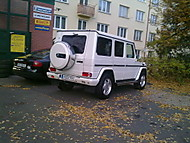 Mercedes Benz G500 V8 (venturis)