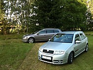 Passat a Fabia RS (Jim)