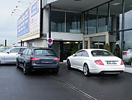Audi RS6 Avant vs. Mercedes-Benz CL 550 (tuner.3x)