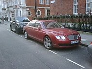 Bentley Cont. Flying Spur in red.. (ohen7us)