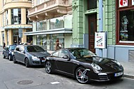 Porsche 997 Carrera 4S + VW Golf GTI (-george2-)