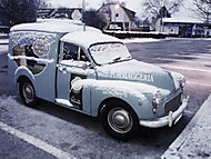 Morris Minor 1000 Van (kysky)
