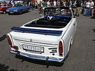 Trabi Cabrio Fourseater Aerowing (xjr99)