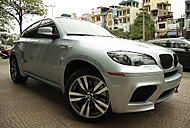 BMW X6 M in Viet Nam (replay767)