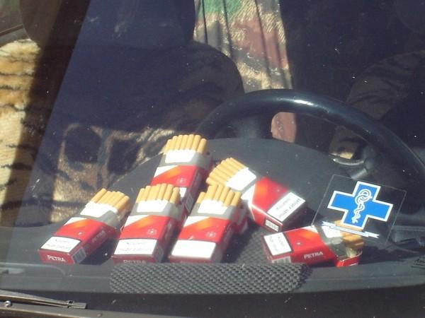Kouření galerií