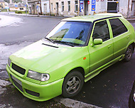 Škoda Felicia Green tuning (linkinn52)