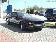 Ford Mustang GT wrecked ! (Arnage .)