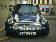 Mini blue and white (hoskin)