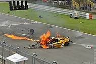 Gallardo Super Trofeo #22 crash (modrak_)