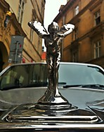 Spirit Of Ecstasy - Flying Emily - Silver Lady ... Prostě Rolls! (Daparo)