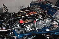 Jaguar E-Type V12 engine (xjr99)